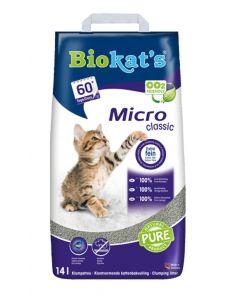 Biokat's Kattenbakvulling Micro Classic 14 Ltr