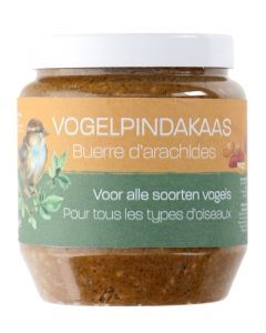 Vogelpindakaas Pot 350 Gr