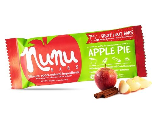Barrita Nunu Pie de Manzana 40 g.