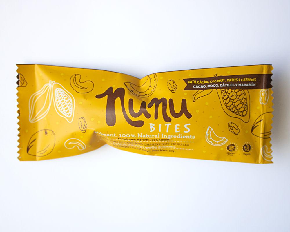 Trufas de chocolate Nunu Bites 30 g.
