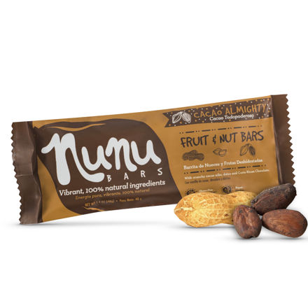 Barrita Nunu Cacao Todopoderoso 40 g.