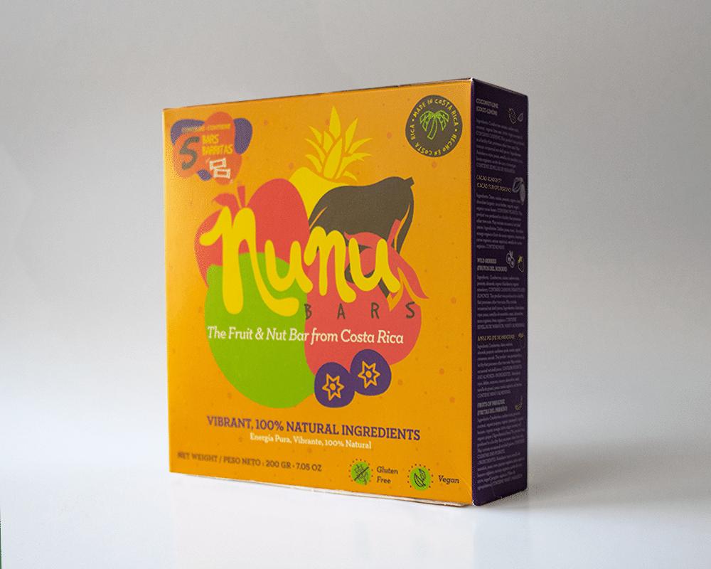 Caja Surtida Barritas Nunu (5 pack) 200 g.