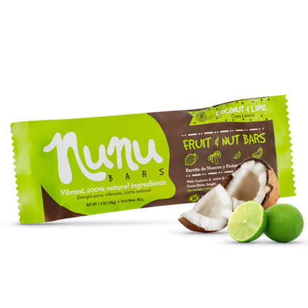 Barrita Nunu Coco Limón 40 g.