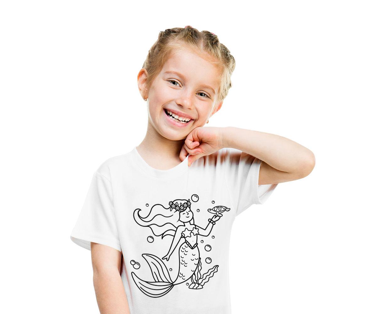 Kit Camiseta Sirena