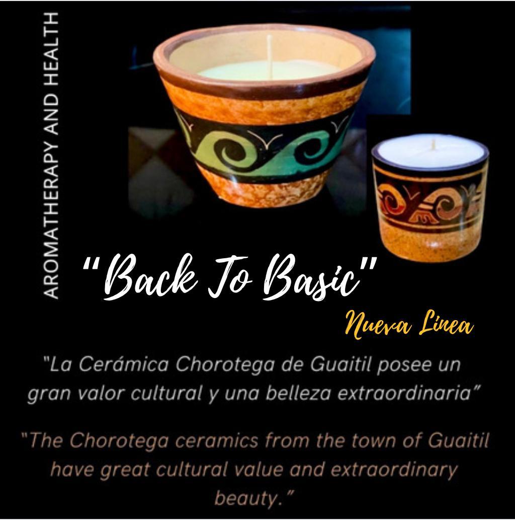 Colección Velas Back to Basic