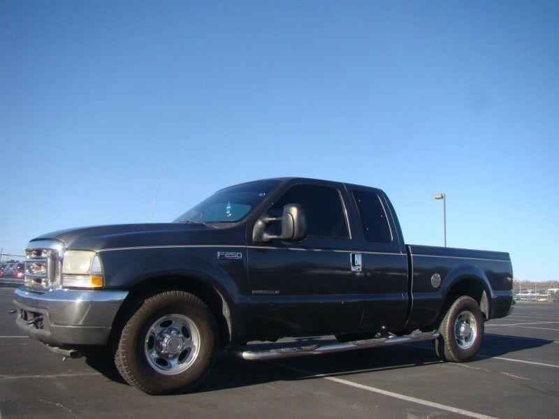 2002 Ford F250 Lariat, 2WD diesel