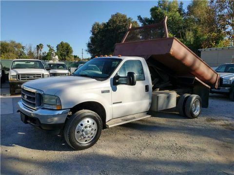 2002 Ford F-550 Super Duty Dump Truck 7.3 Diesel for sale