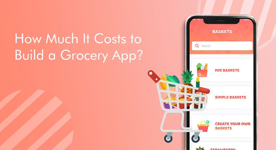 Grocery Shopping Mobile App cost