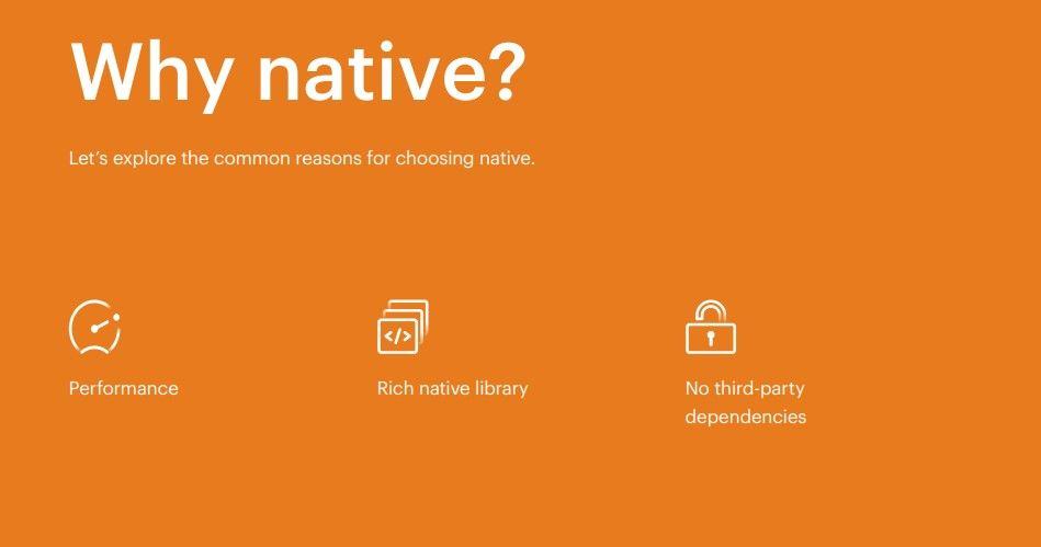 Why Native App Development