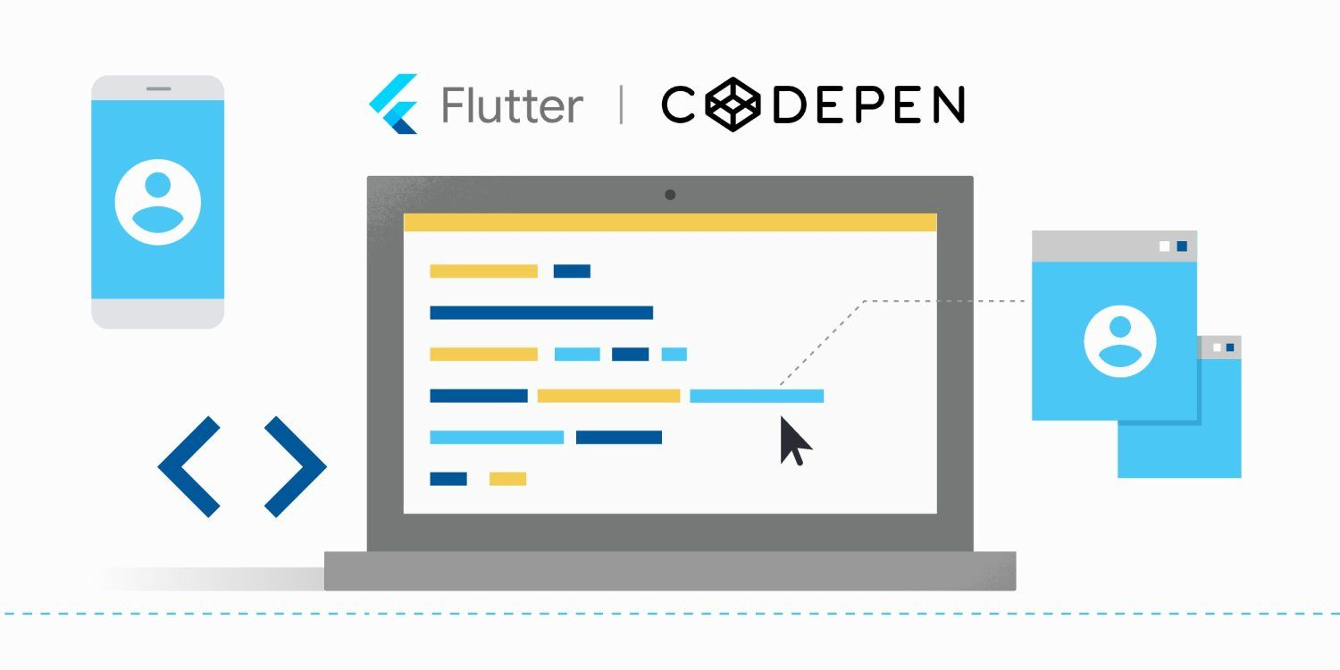 How to Start Flutter Development on Codepen