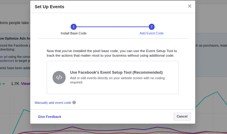 Facebook Event Setup