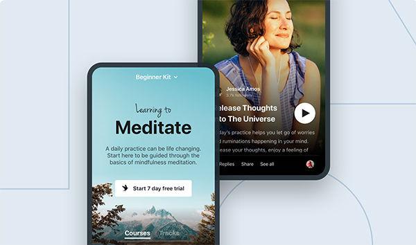 Insight Timer App Banner