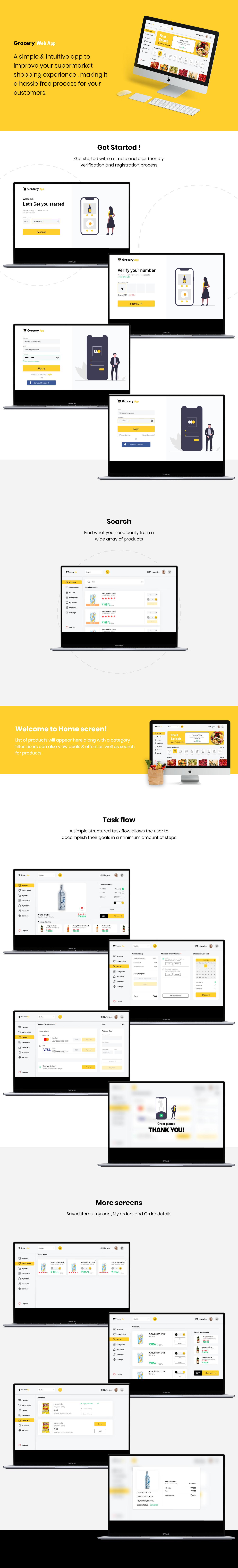 eCommerce Grocery Webapp
