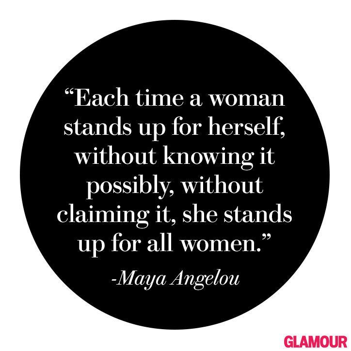 motivational quotes by maya angelo - Glamour
