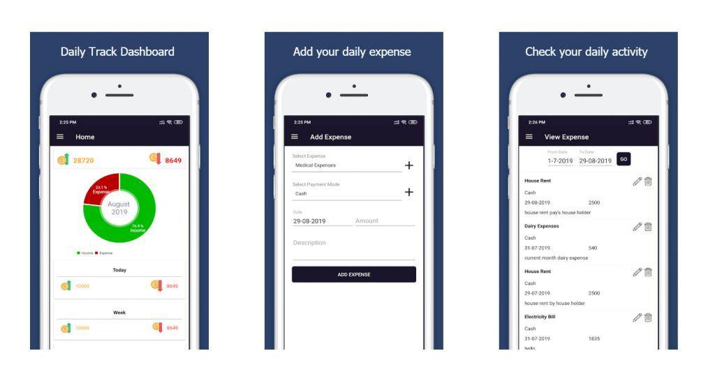 Expense Tracker Mobile App Development