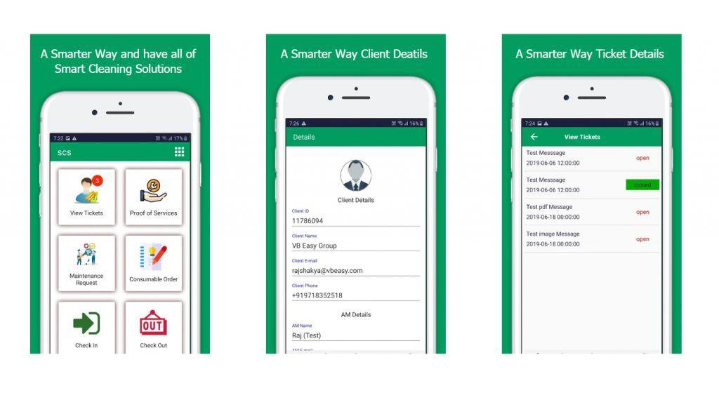 Smartway android app development