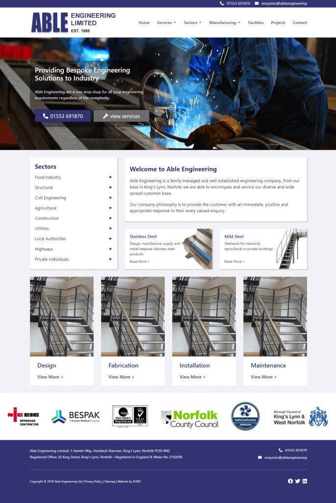 Able Engineering - Web Designing, WordPress Development