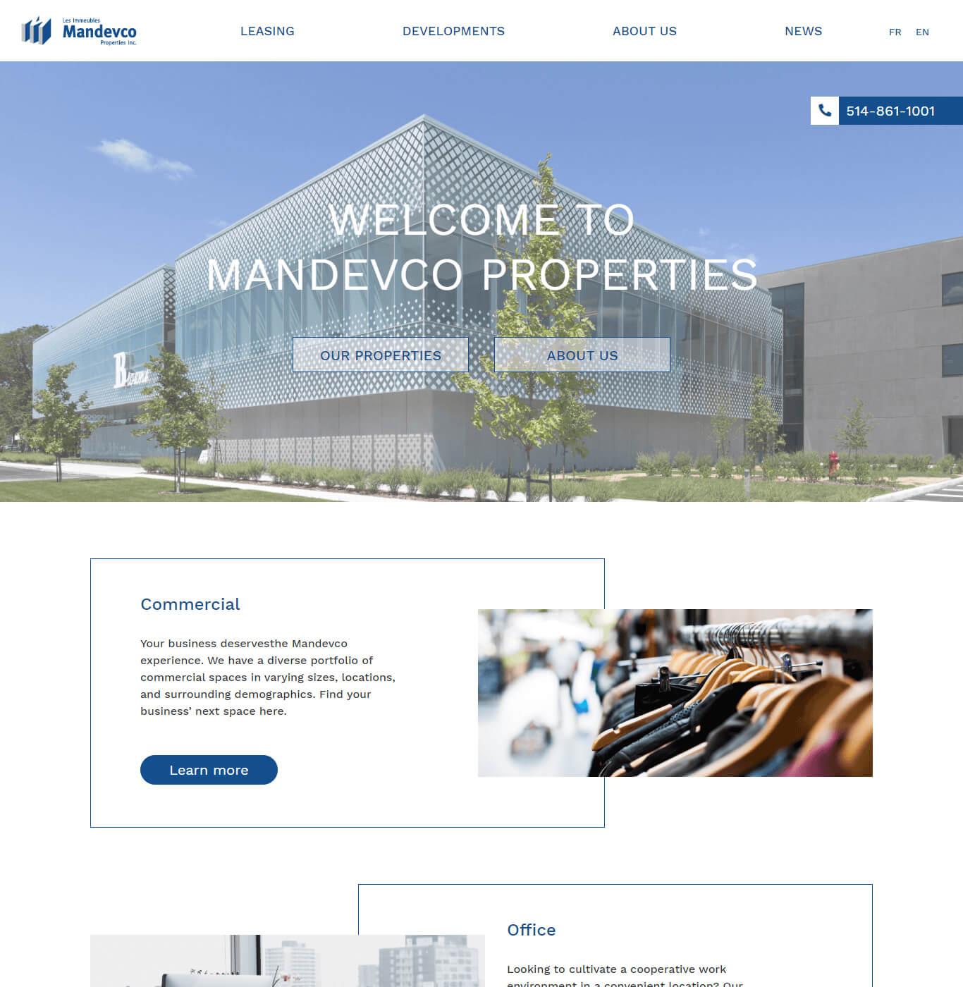 Mandevco - WordPress Development, Web Designing