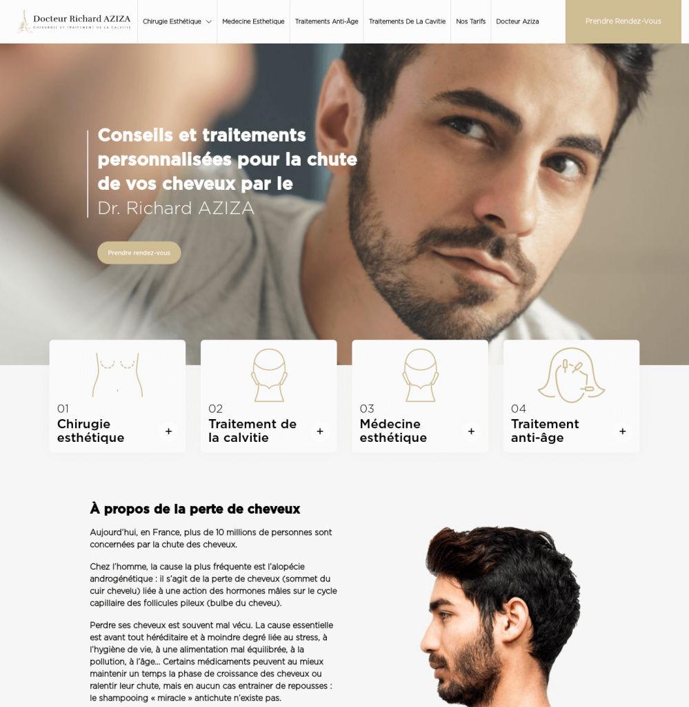 Docteur Aziza - Web Designing, WordPress Web Development