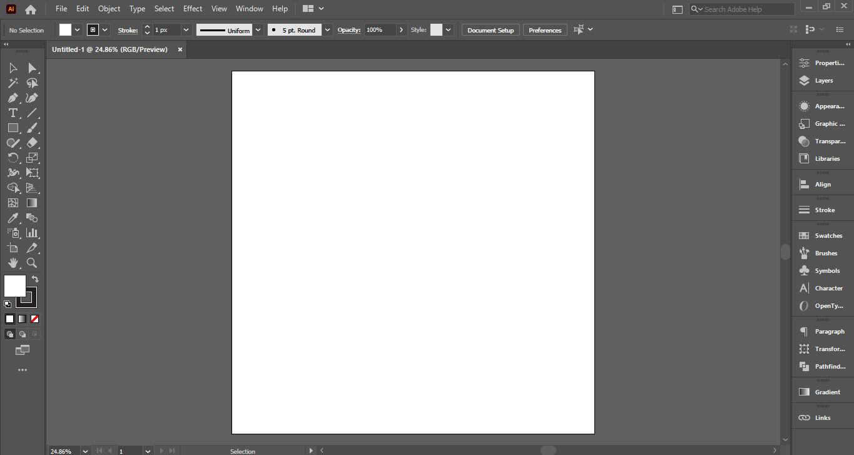 creating an artboard
