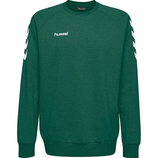 hummel Sweatshirt Go Cotton grün