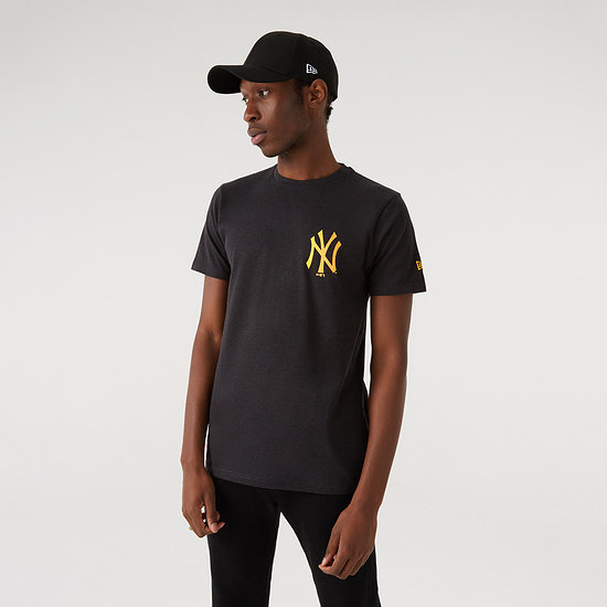New Era New York Yankees T-Shirt Neon grau