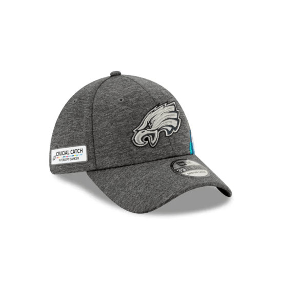 New Era Philadelphia Eagles Cap Crucial Catch 39THIRTY grau