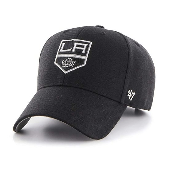 47 Brand Los Angeles Kings Cap MVP schwarz