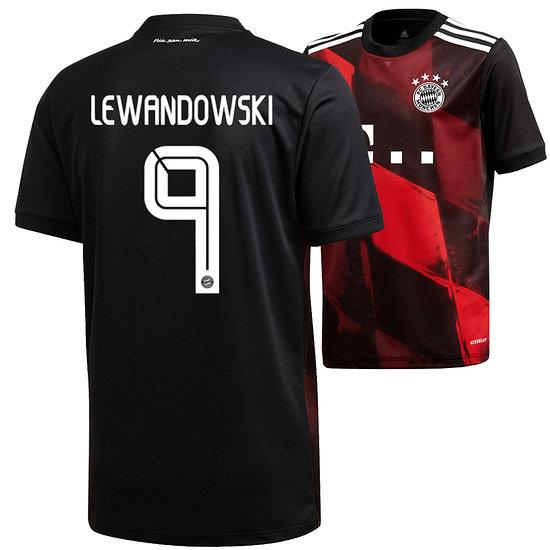 Adidas FC Bayern München CL Trikot Lewandowski 2020/2021 Kinder