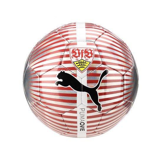 Puma VfB Stuttgart Trainingsball One Chrome Größe 5