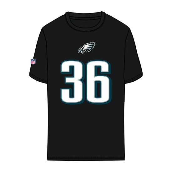 Majestic Athletic Philadelphia Eagles T-Shirt Ajayi No 36 Eligible Receiver schwarz