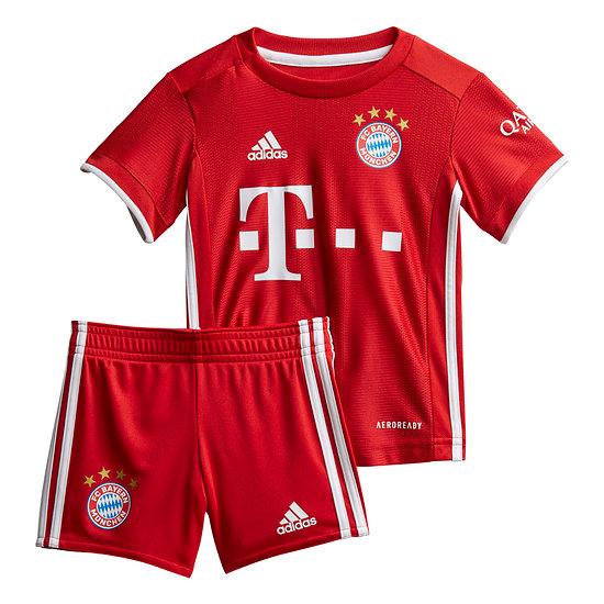 Adidas FC Bayern München Trikot 2020/2021 Heim Baby Kit
