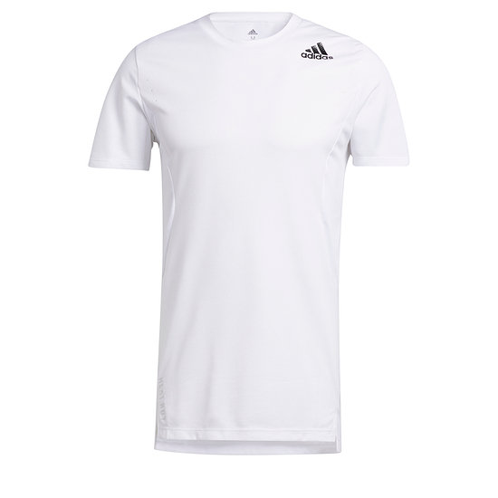 Adidas T-Shirt Training HEAT READY Weiß