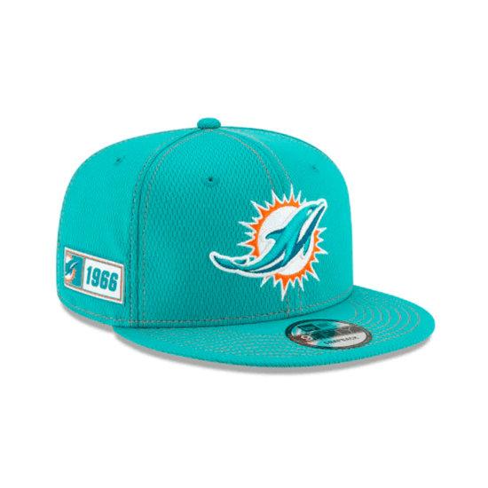 New Era Miami Dolphins Cap On Field 9FIFTY türkis
