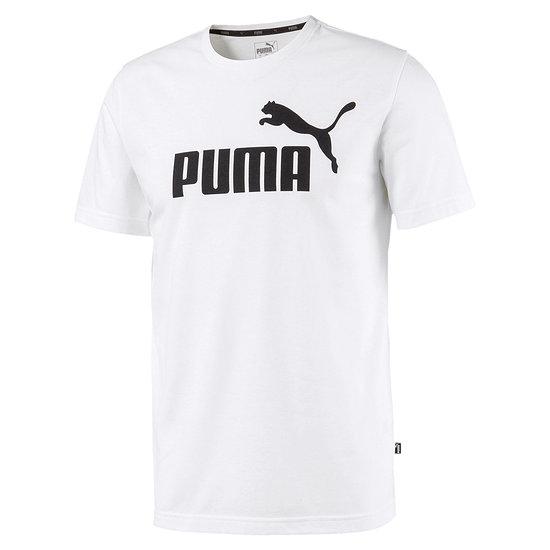 Puma T-Shirt ESS + Weiß