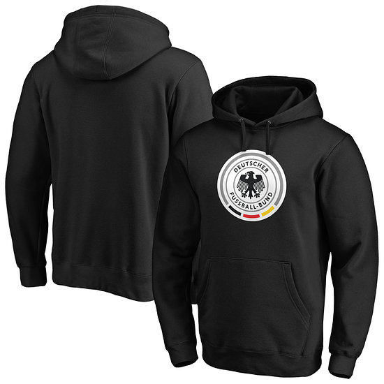 Fanatics DFB Hoodie Icon Primary Logo Graphic schwarz