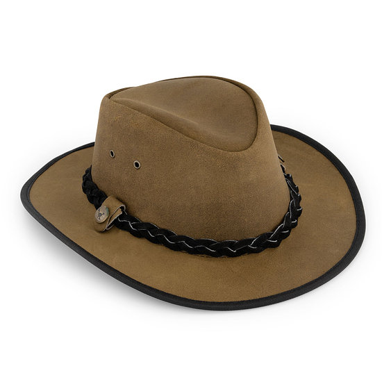 MGO Hut Leather Country camel
