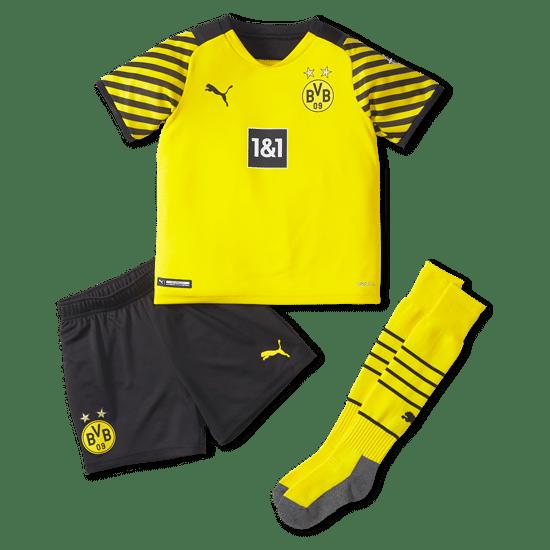 Puma Borussia Dortmund Trikot 2021/2022 Heim Mini Kit