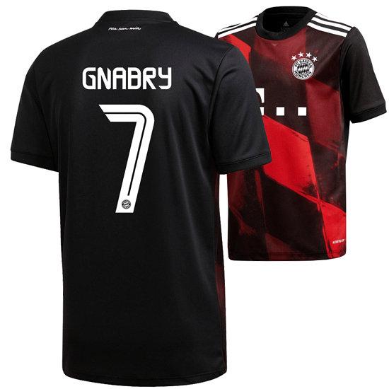 Adidas FC Bayern München CL Trikot GNABRY 2020/2021 Kinder
