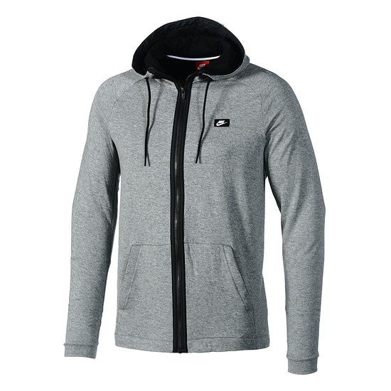 Nike ZIP Hoodie Sportswear Modern Grau/Schwarz