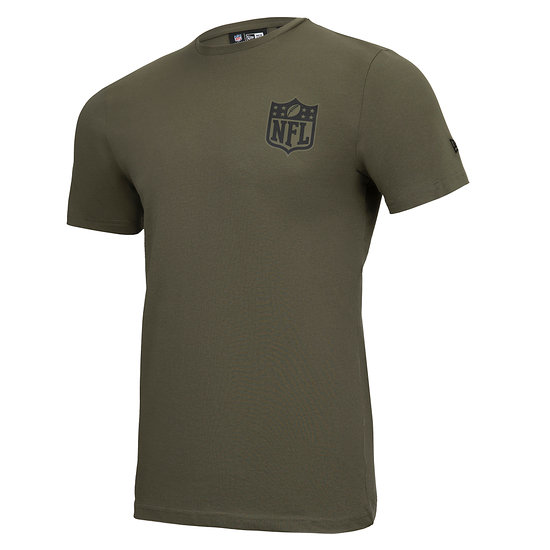 New Era NFL Shield T-Shirt Camo Injection grün