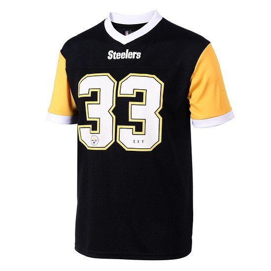 New Era Pittsburgh Steelers Trikot Tri Colour schwarz