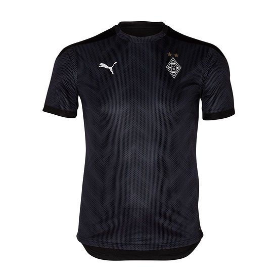 Puma Borussia Mönchengladbach T-Shirt Stadion 2020/2021 Schwarz
