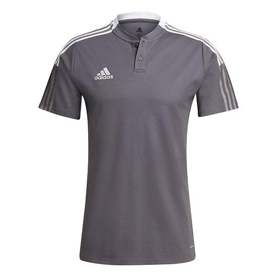 Adidas Poloshirt Tiro 21 Dunkelgrau