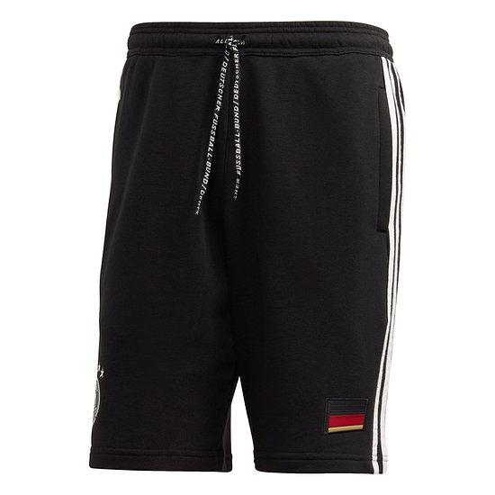 Adidas Deutschland DFB Training Shorts 3S EM 2021 Schwarz