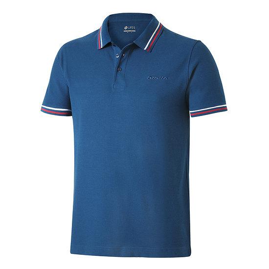 Lotto Poloshirt Classica blau/rot