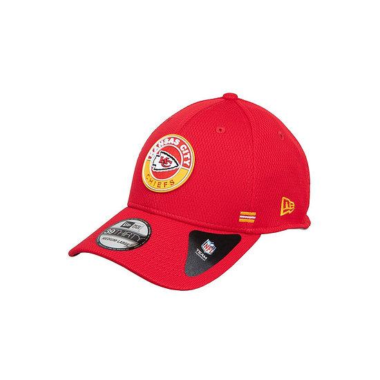 New Era Kansas City Chiefs Cap Road 39THIRTY Sideline 2020 rot
