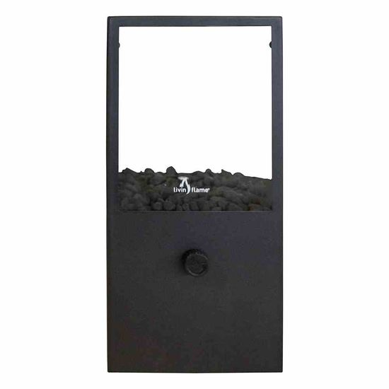 Cosi Windlicht Cosidome, 18x18x45 cm schwarz