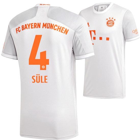 Adidas FC Bayern München Auswärts Trikot SÜLE 2020/2021 Kinder