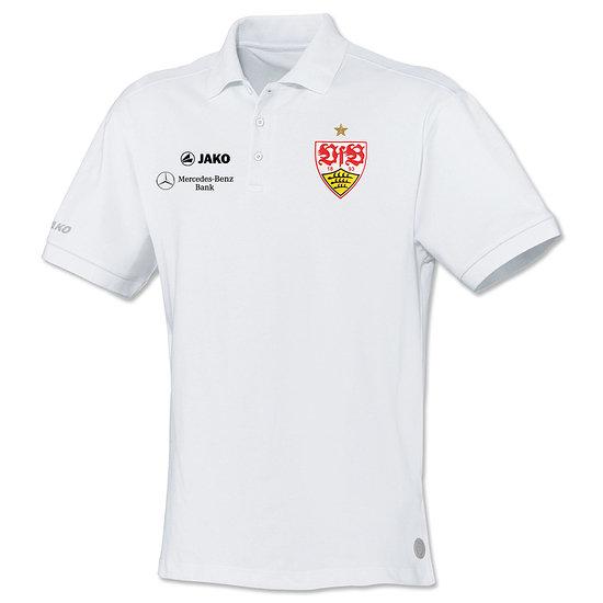 Jako VfB Stuttgart Polo Classic 2020/2021 weiß
